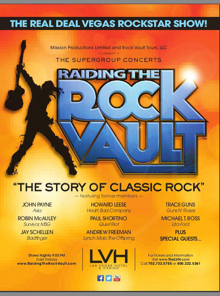 Raiding the Rock Vault 2013 - Las Vegas Hotel & Casino!
